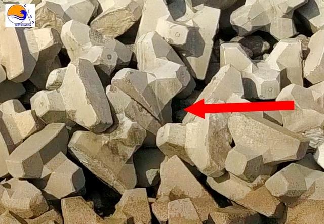 ACCROPODE™ , accropode,  ACCROPODE™II, le bloc ACCROPODE™ , ACCROPODE™ block