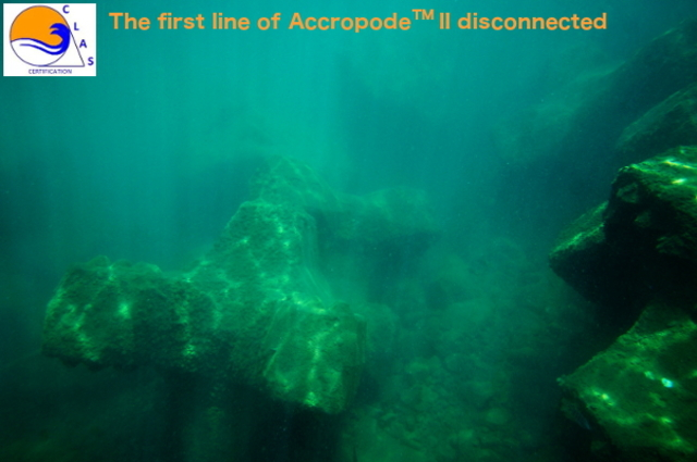 ACCROPODE collapsed