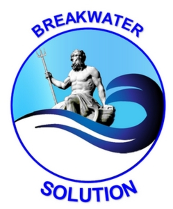 Breakwater solution ACCROPODE™II  ACCROPODE™ CORELOC™